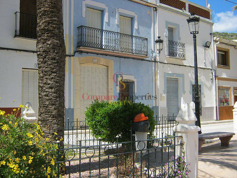 Location courte durée - Townhouses - Jalon Valley - ALICANTE
