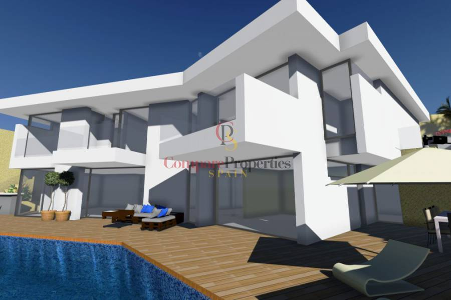New Build - Villa - Benissa - La Fustera
