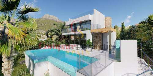 Villa - New Build - Calpe - Tosal