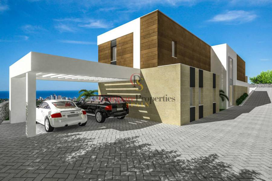 New Build - Villa - Calpe - Colina del sol