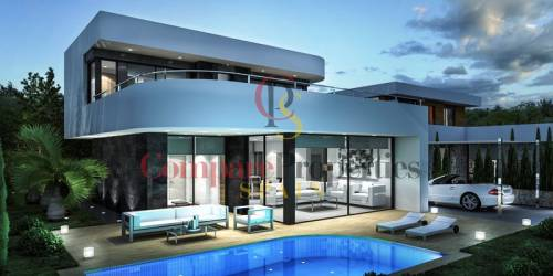 Villa - New Build - Dénia - ALICANTE